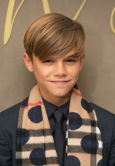 Model: 13-year-old Romeo already works with fashion giant Burberry