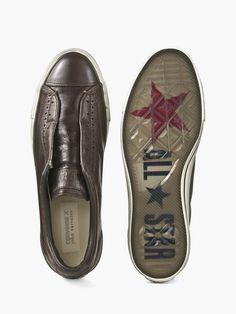 Chuck Taylor Vintage Leather Slip On