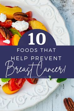 There is no guarantee when it comes to Breast Cancer Reoccurrence but there is things you can do to improve your Breast Health. |Healthy Living After Breast Cancer| YOUR DIET AND CLEAN EATING IS ONE OF THEM. Get your free guide of Top 10 foods that COULD prevent Breast Cancer Reoccurrence. From one Cancer Survivor to another. #healthyfoods Foods To Eat, Breast Cancer, Healthy Living, Clean Eating, Things To Come, Healthy Recipes, Cleaning, Diet, Top