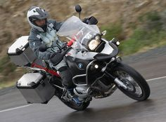 BMW r1200gs ADV - Off to work we go!