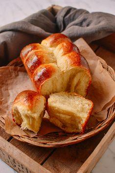Homemade Brioche Recipe | The Woks of Life Bread Recipes, Cooking Recipes, Cooking Tools, Cooking Fish, Cooking Classes, Cooking Broccoli, Cooking Bacon, Donut Recipes, Drink Recipes