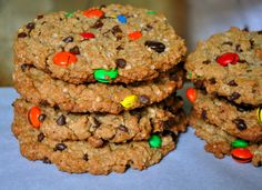 The BEST recipe for Monster Cookies!