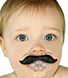 Baby Mustache Pacifier. Only $9.97 #baby #pacifier #giftideas