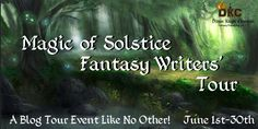 All through June I will be participating in the Magic of Solstice Fantasy Writer's Tour along with fifteen other fantasy authors. Creative Writing Ideas, Make A Character, Fantasy Authors, Dragon Knight, Tours, Magic, June, Writers, Charlotte