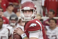 2011 Razorback quarterback Tyler Wilson