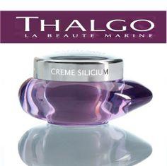 Thalgo Silicium Cream, Zengin formülasyonu sayesinde cildi besler ve kırışıklıkları doldurur. Cildi toparlayarak çok daha sıkı görünmesini sağlar. #Thalgo #SkinCare #CiltBakımı #SiliciumCream #Güzellik