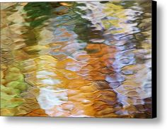 Water Abstract Canvas Print / Canvas Art By Christina Rollo