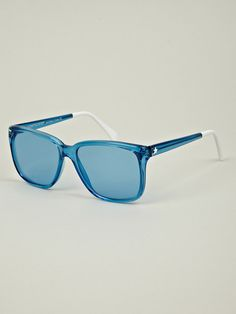 Sheriff&Cherry G12 Crystal Blue Sunglasses for guys by way of Man in Pink