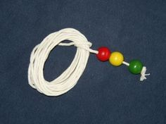Brock String Vision Therapy - 10ft string + 3 beads knotted at least 12 inches apart. Tracking/focusing etc