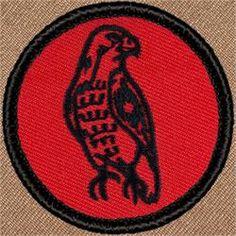 Retro Hawk Patrol Patch (#R002)