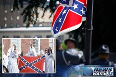 """Following the Removal of the Confederate Battle Flag from SC Capital Grounds, KKK Threatens to """"Wipe Out"""" Blacks.  Here's that 'Southern Pride and Heritage - not Hate' They've Been Screeching About..."""