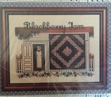 Told in a Garden Amish Quilt Cross Stitch Chart Pattern Blackberry Jam
