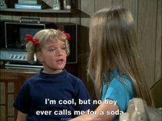 I' am cool, but no boy ever calls me for a soda