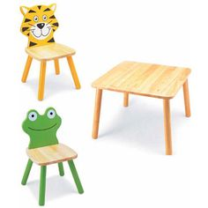 Animal chairs for children