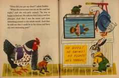 Rabbit and his Friends, Written and Illustrated by Richard Scarry, 1953