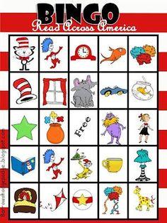 Dr. Seuss bingo: