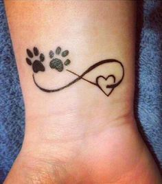 PawsInfinity∞  Tattoo
