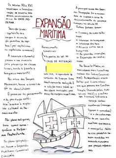 resumo de história sobre a expansão marítima School Notes, Study Notes, Student Life, Decir No, Vest, History, School Tips, Teaching Tips, Korean Language