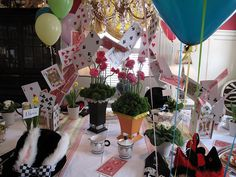 Mad Hatter Tea Party Ideas | Recent Photos The Commons Getty Collection Galleries World Map App ...