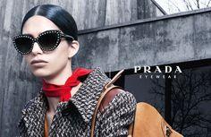 cool Mica Arganaraz por Steven Meisel para Prada Eyewear Fall 2014  [Campaign]