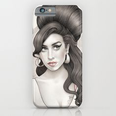 Amy Winehouse iphone case