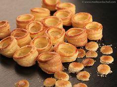 Croûtes à mini-bouchées