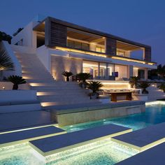 """✨Roca Llisa by SAOTA & ARRCC Location: #Ibiza, #Spain"""