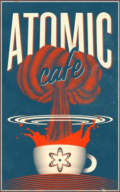 Atomic Cafe by Patrick Seymour, via Behance