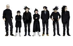 Render Goku Gohan vegeta broly thales nappa raditz sangoku sangohan saiyen costume dragon ball z - Dragon Ball - Animes et Manga - PNG image sans fond - Posté par dylogre - Telecharger le render