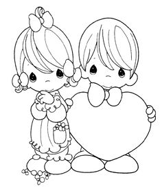 free printable wedding coloring pictures | ... to Precious Moments Coloring Pages For Kids. Free Printable Pictures