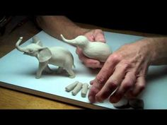 Learn Sculpting - Lesson 3, Part 1: Sculpt a Baby Elephant - YouTube