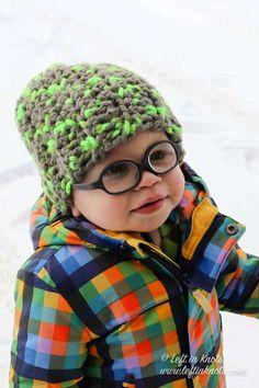 Crochet Toddler Hat, Chunky Crochet Hat, One Skein Crochet, Fast Crochet, Crochet Beanie Pattern, Chunky Yarn, Crochet Patterns, Crochet Hats, Crochet Children