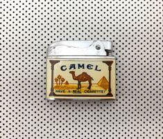 Excited to share this item from my #etsy shop: Vintage lighter. Camel cigarette lighter. Vintage Man Cave Ideas, Vintage Men, Vinyl Record Storage, Beer Taps, Vintage Lighting, See Picture, Lighter, Really Cool Stuff, Camel