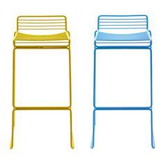 Hay Hee Barstool | Hee Welling | Regular: W 43 x D 45 x H 76 cm (W 17 x D 18 x H 30 in) seat: H 65 cm / H 25.5 in Tall: W 44 x D 47 x H 86 cm (W 17 x D 18.5 x H 34 in) seat: H 75 cm / H 29.5 in