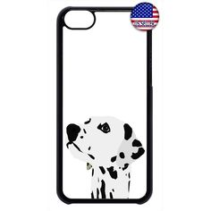 Dog Dalmatian Spots Rubber Case Cover For Ipod Touch