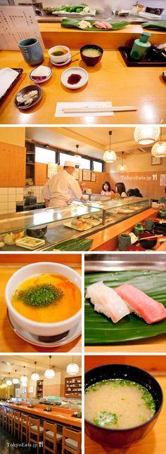 Tokyo Eats Sushi spots