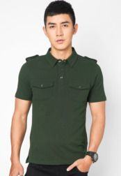 เสื้อโปโล With Epaulette And 2 Chest Pocket     #Chest, #Epaulette, #Pocket, #เสอโปโล
