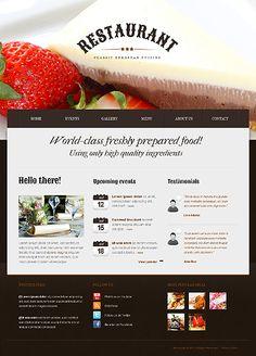 Cafe and Restaurant Drupal Template #food #blog #website http://www.templatemonster.com/drupal-themes/41242.html?utm_source=pinterest&utm_medium=timeline&utm_campaign=cafe