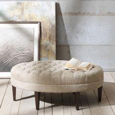 $199  Madison Park Martin Upholstered Ottoman