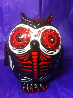 day of the dead owl, i want this!