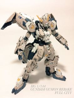 HG 1/144 Gundam Gusion Rebake Full City - Customized Build     Modeled by kojimalabo