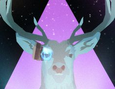 "Check out new work on my @Behance portfolio: ""THE SPACE DEER HUNTER"" http://on.be.net/1IxkoM7"