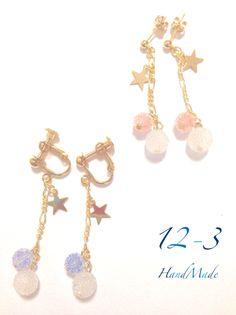 【受注販売】White Candy earring/pierce