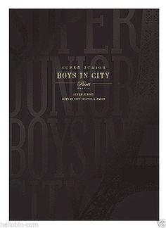 SUPER JUNIOR - Boys In City Season 4. PARIS [NORMAL Ed.] PhotoBook + GIFT