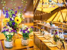 An English Countryside Tipi Wedding - Emma & Luke | OMG I'm Getting Married UK Wedding Blog | UK Wedding Design and Inspiration for the fabulous and fashion forward bride to be.