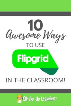 I spent some time with 10 educators talking about 10 awesome ways to use Flipgrid in your classroom [LIVE from ISTE] at the Flipgrid booth. The educators that stood up to speak shared some… Teaching Technology, Educational Technology, Technology Humor, Educational Crafts, Assistive Technology, Technology Integration, Mobile Technology, Computer Technology, Formative Assessment Tools
