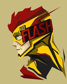 Kid Flash #popheadshots