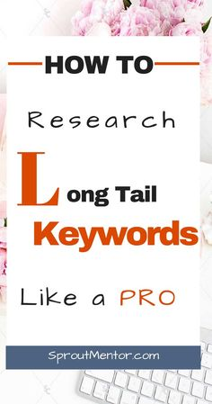 Do you want to get free Google traffic by ranking on page one? I will show you how to research long tail keywords that will rank you on page one of Google even if you are a complete newbie. How To Research Keywords That Will Get You On Page 1 Of Google   SproutMentor