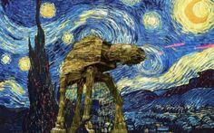 Star Wars meets Van Gogh