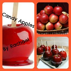 Best easiest candy apple recipe ever! Get ready for Halloween!